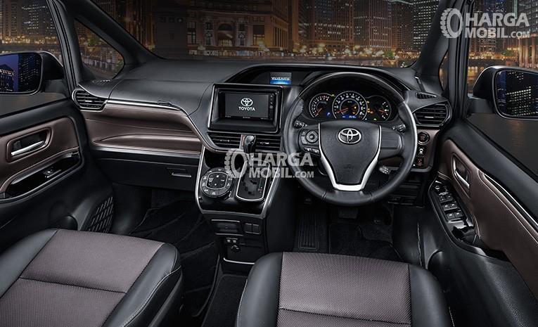 Gambar bagian dashboard mobil Toyota Voxy 2017