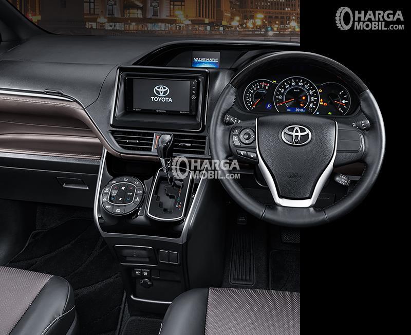 gambar bagian setir mobil Toyota Voxy 2017