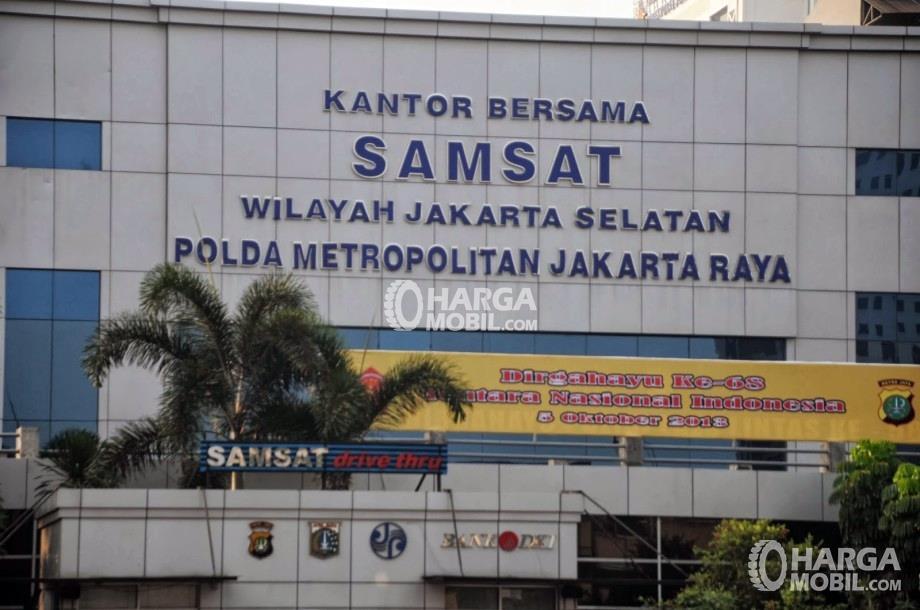 Kantor Samsat di wilayah Jakarta Selatan