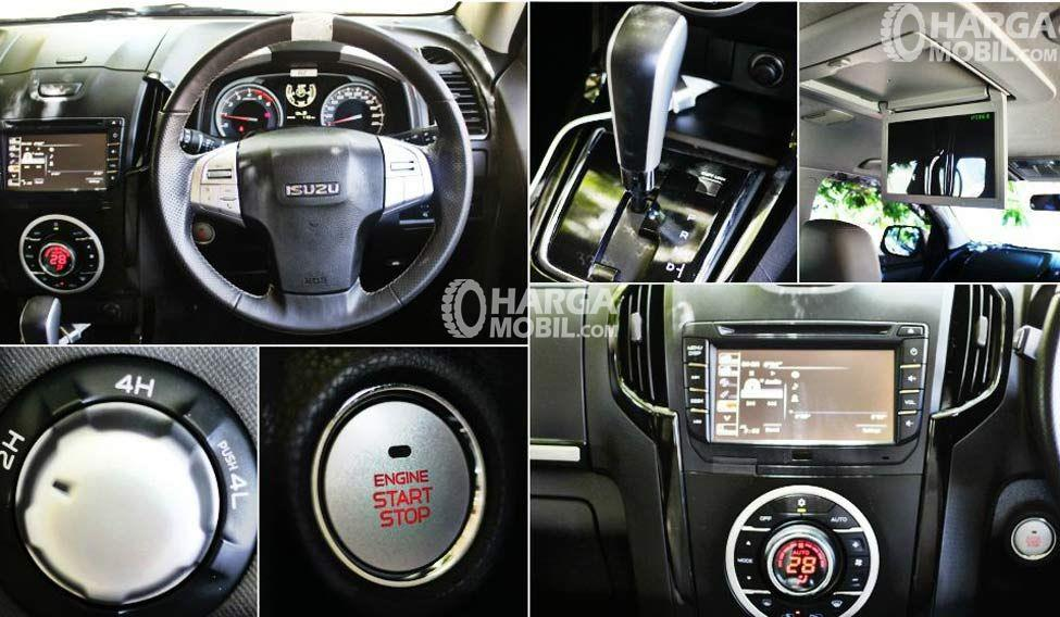 Gambar kelengkapan fitur mobil Isuzu MU-X 2017