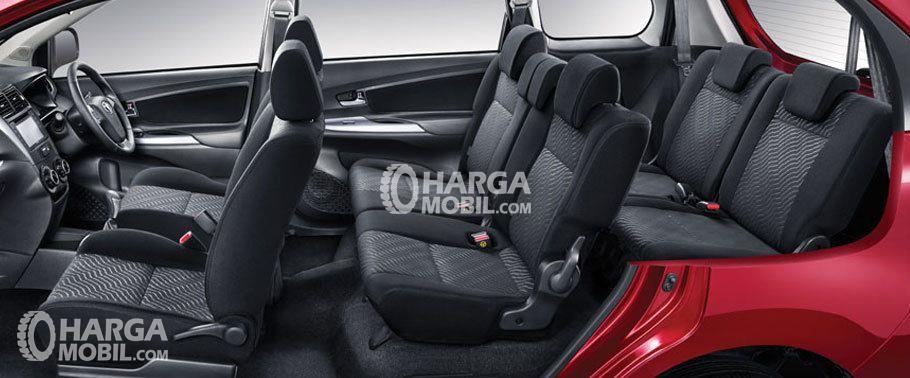 Gambar bagian kursi mobil Toyota Avanza Veloz 2017