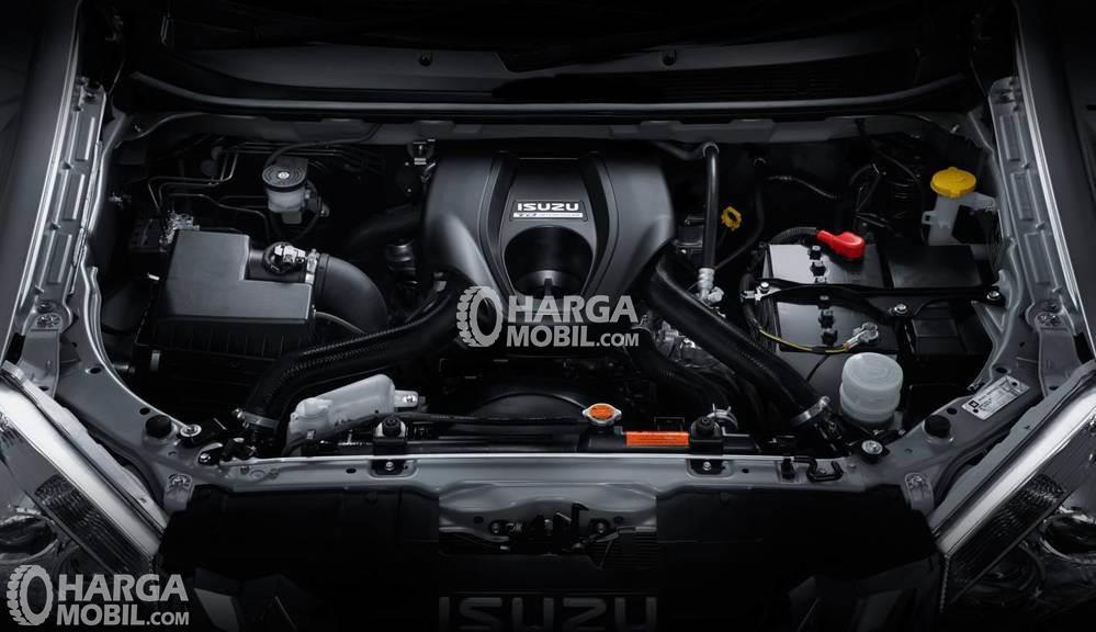 Gambar bagian mesin mobil Isuzu Mu-X 2017