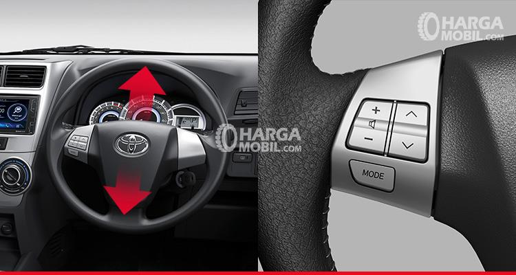 Gambar setir mobil Toyota Avanza Veloz 2017