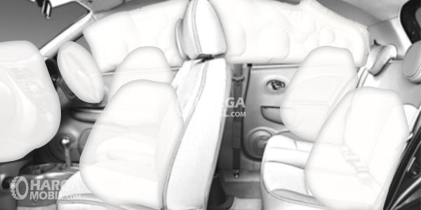 Gambar fitur airbag mobil Toyota Land Cruiser 2017