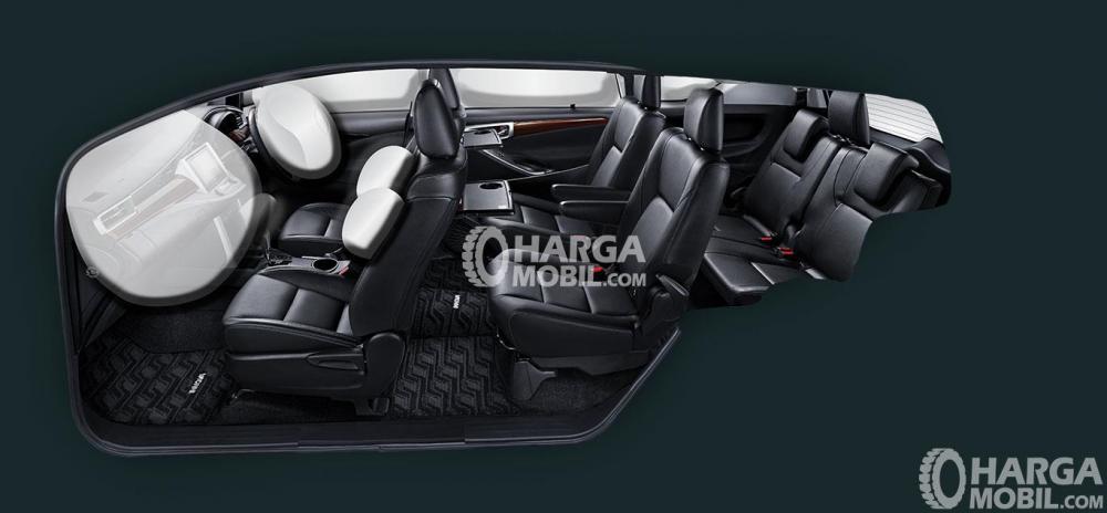 gambar bagian kursi mobil Toyota Venturer 2017