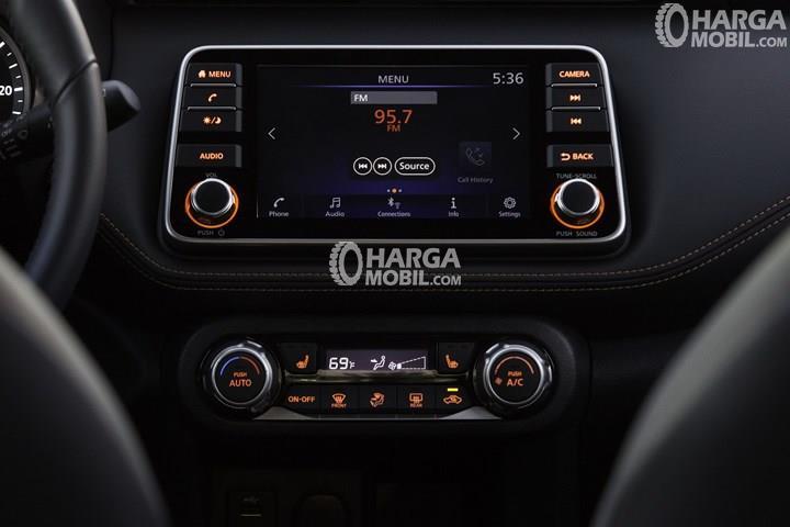 gambar mesin sangat modern dalam sebuah mobil Nissan Kicks