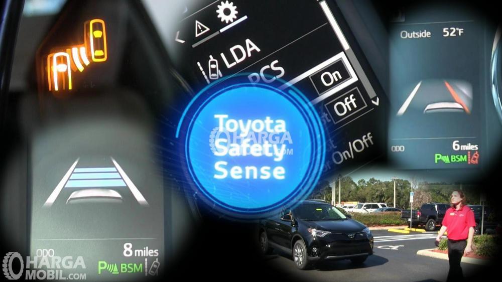 gambar deksripsi  Toyota Safety Sense secara lengkap
