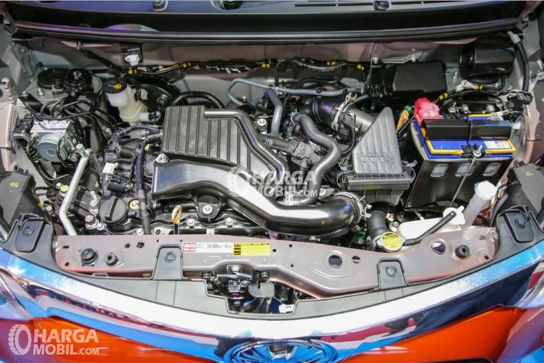 Bagian mesin mobil Toyota Calya 2016