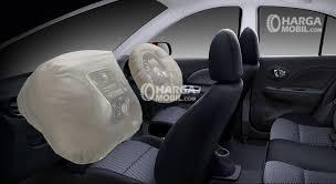 Fitur airbag di mobil Nissan March 2016