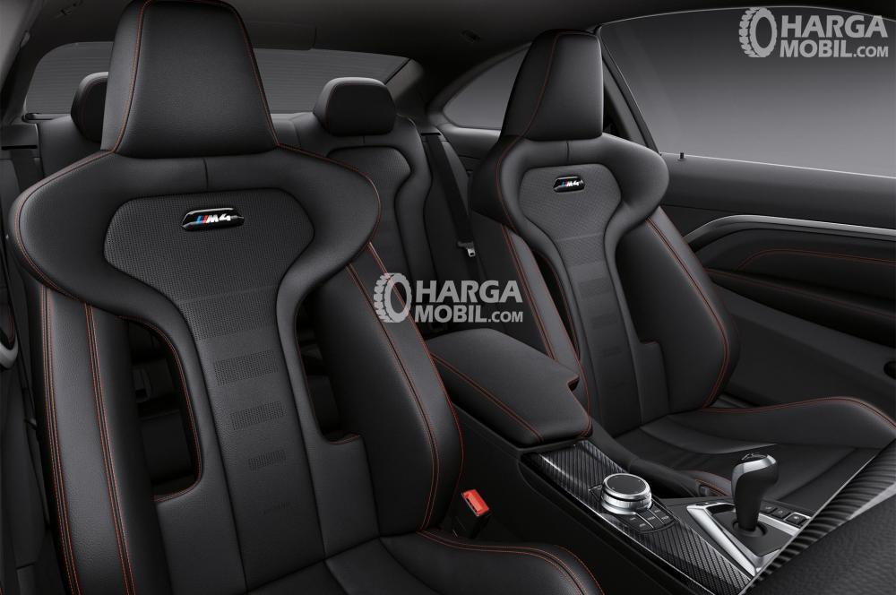 Gambar bagian kursi mobil BMW M4 2017