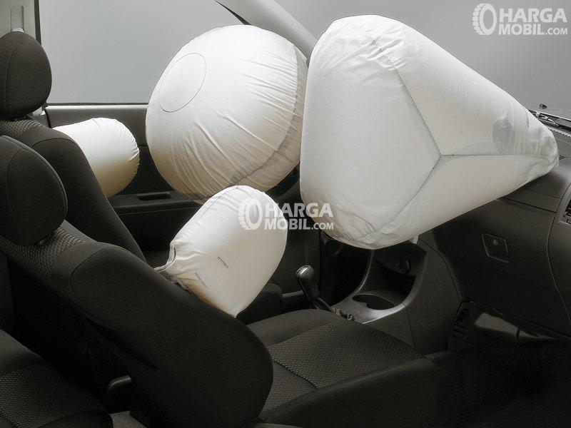 Gambar menunjukkan fitur airbag di Mobil Daihatsu Terios 2016