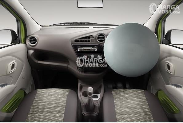 Gambar fitur airbag di bagina depan mobil Datsun Go Panca 2015