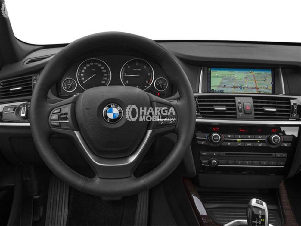 Gambar bagian dashboard mobil BMW X3 2016