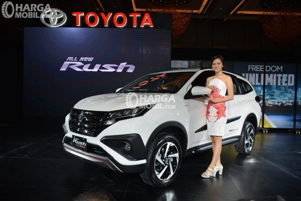 Gambar Toyota All New Rush saat diluncurkan pertama kali di awal tahun 2018