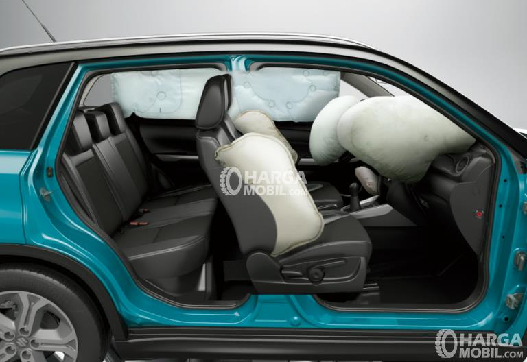 Fitur airbag di mobil Suzuki Vitara Brezza 2018