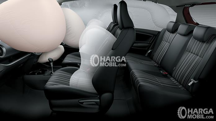 gambar fitur airbag di mobil  Toyota Yaris 2018 TRD Sportivo
