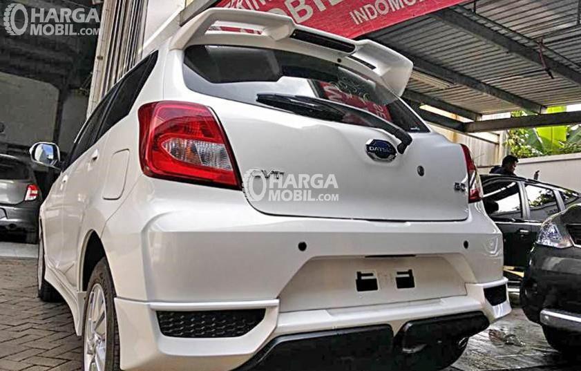 Datsun Go CVT tertangkap kameran Netizen