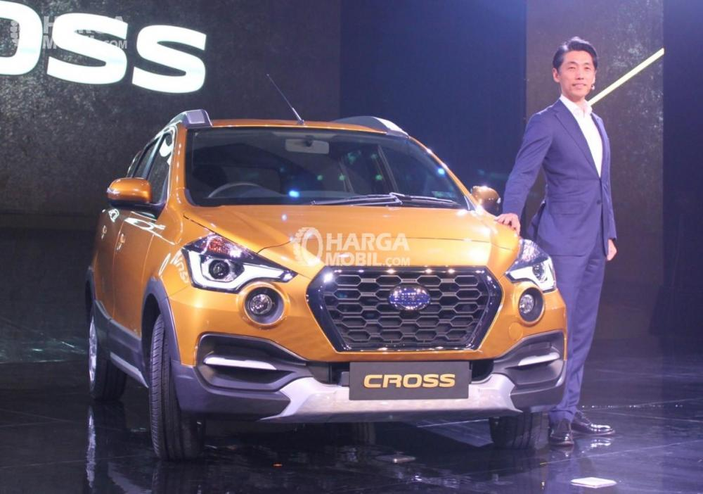Datsun Cross saat diluncurkan pertama di Indonesia