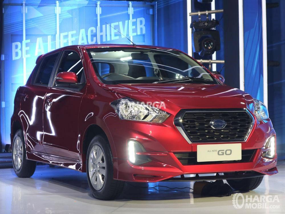 Gambar mobil Datsun GO CVT saat diluncurkan