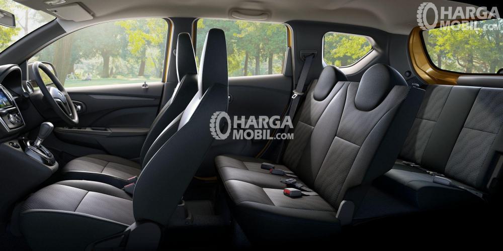 Gambar interior Datsun Cross yang terlihat mewah
