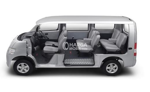 gambar susunan kursi 3 baris daihatsu gran max minibus 2017