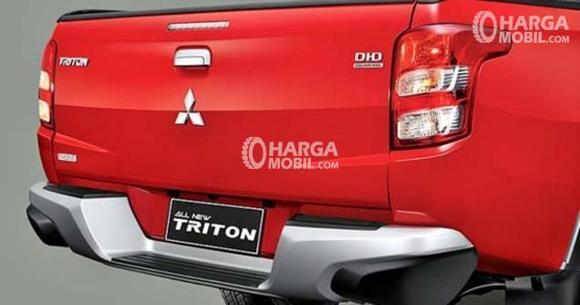 Mitsubishi Triton 2017 Memiliki Penampilan Yang Lebar Di Bagian Belakangnya