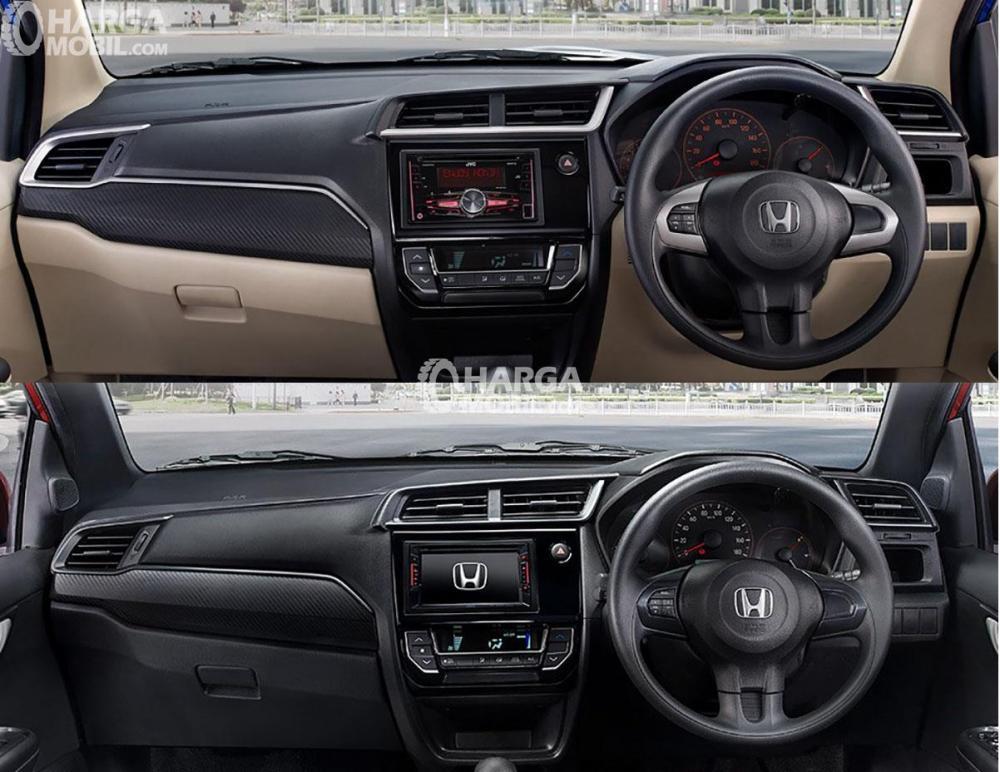 Dashboard Honda Brio 2018 RS Berwarna Hitam