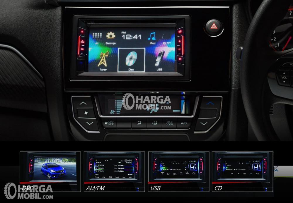 Honda Brio 2018 Memiliki Fitur Penunjang Yang Lengkap