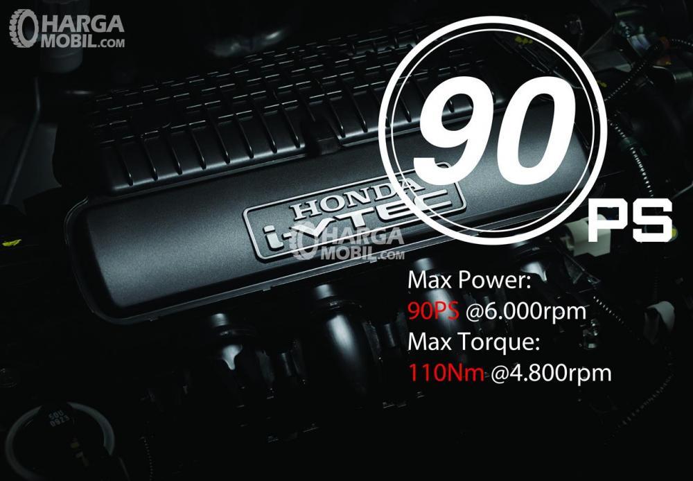 Honda Brio 2018 Memiliki Mesin 1.2L i-VTEC