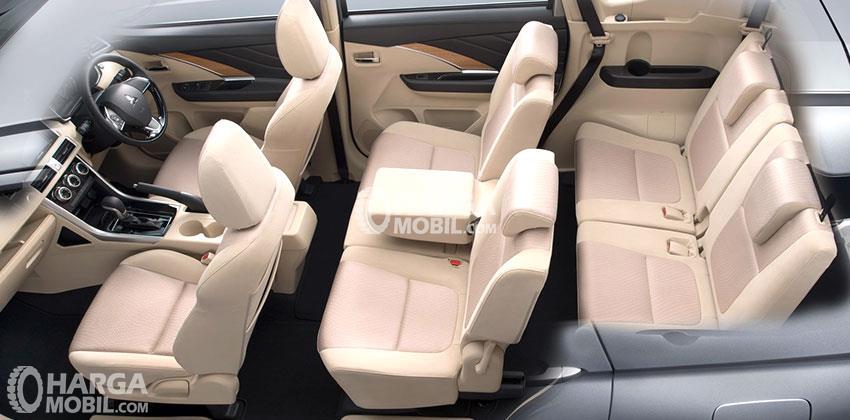 Kursi Mitsubishi Xpander 2018 Memiliki Warna Beige Elegan