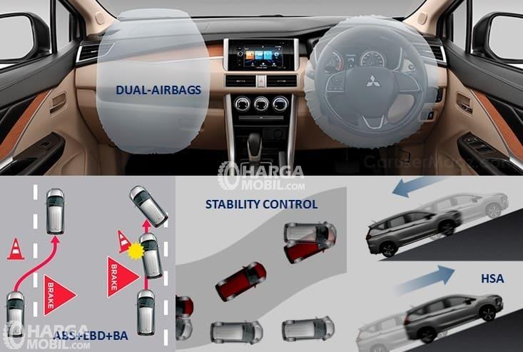 Mitsubishi Xpander 2018 Dibekali Banyak Fitur Safety