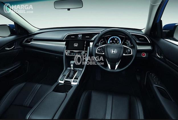 Dashboard Honda Civic 2017Seperti Kabin Coupe Sport