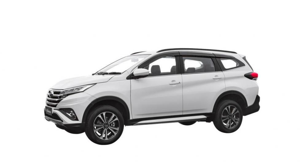 Bagian Samping Daihatsu All New Terios 2018 Dengan New Chrome Window Mewah