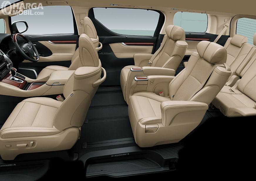 Toyota Alphard 2018 Memiliki Dua Pilihan Warna Kabin