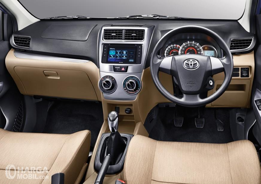 Toyota Avanza 2018 Brown Dashboard Panel Design