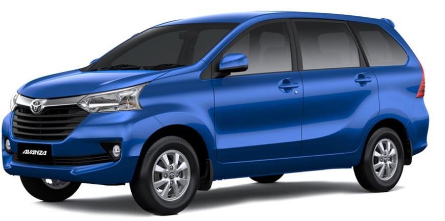 Sisi Samping Toyota Avanza 2018 Dengan Side Moulding