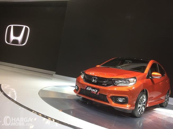 Honda Brio 2018 yang diluncurkan pada ajang GIIAS 2018