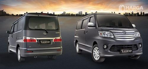 Daihatsu Luxio tawarkan dua varian menarik yang dibedakan berdasarkan transmisi