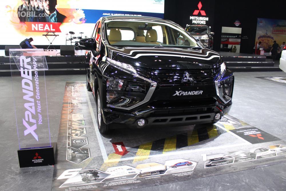 Sisi Depan Mitsubishi Xpander GLS AT 2018 Memiliki Desain Dynamic Shield