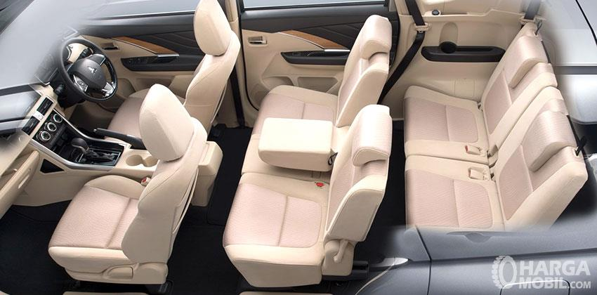 Mitsubishi Xpander GLS AT 2018 Memiliki Kapasitas 7 Penumpang