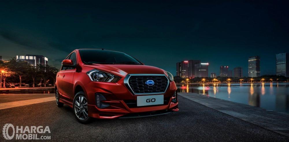 Desain Depan Eksterior Datsun Go CVT 2018