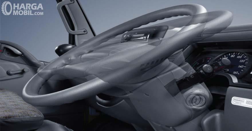 Mitsubishi Colt Diesel FE 74 HD 2017 Mendapat Kemudi Dengan Fitur Tilt & Telescopic Steering