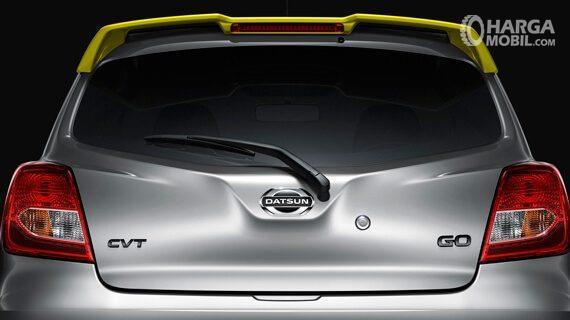 Desain Belakang Datsun Go Live 2018 berwarna abu-abu