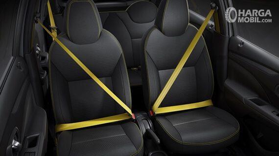 Bagian Kursi Datsun Go Live 2018 dengan seat belt