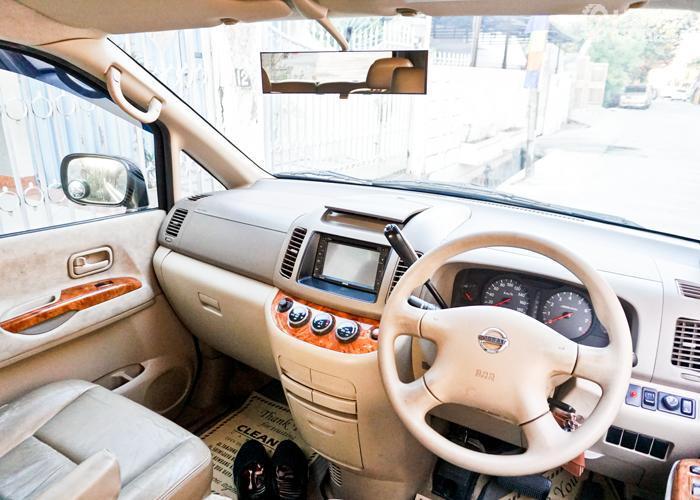 Bagian Dashboard Nissan Serena 2012 Highway Star