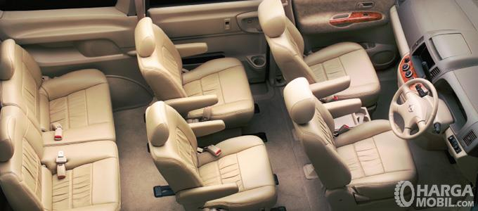 Konfigurasi Kursi Nissan Serena 2012 Highway Star