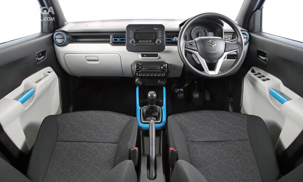 Suzuki Ignis GL MT 2018 Memiliki Paduan Warna Cantik Dalam Kabinnya