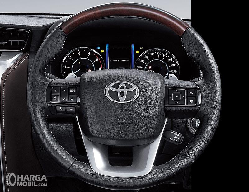 Setir Toyota Fortuner TRD 2018 Sudah Tilt & Telescopic Steering