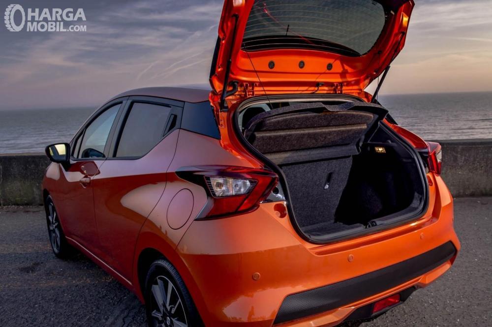 Nissan March 2019 Dengan Bagasi Lebih Luas