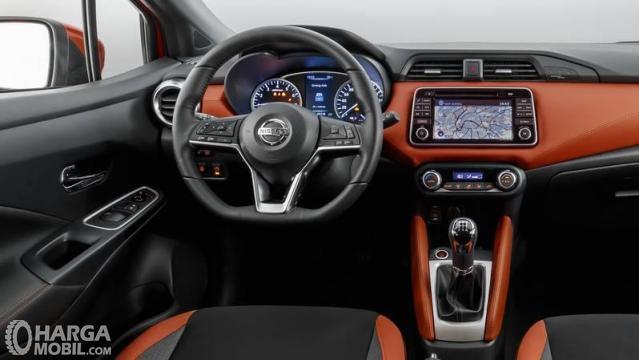 Dashboard Nissan March 2019 Lebih Stylish dan Mencolok
